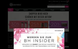 BH Cosmetics Webseiten Screenshot