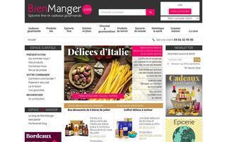 bienmanger.com Webseiten Screenshot