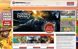 Bigpoint Webseiten Screenshot
