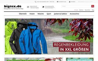 BigTex Webseiten Screenshot