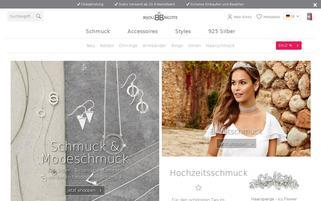 Bijou Brigitte Webseiten Screenshot
