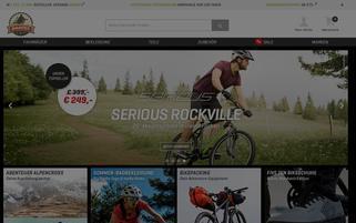 Bike Unit Webseiten Screenshot