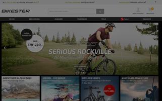 Bikester.ch Webseiten Screenshot