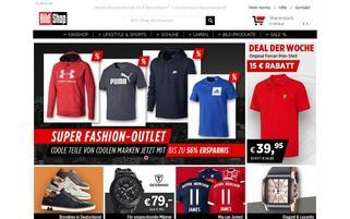 Bild Shop Webseiten Screenshot