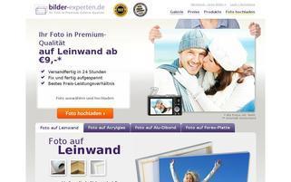 bilder-experten Webseiten Screenshot