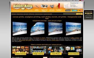 Bilderking Webseiten Screenshot