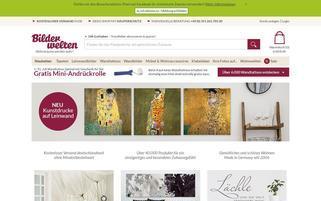 Bilderwelten Webseiten Screenshot