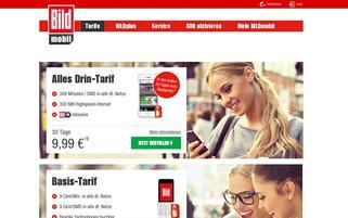 bildmobil.de Webseiten Screenshot