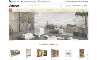 bimago.de Webseiten Screenshot