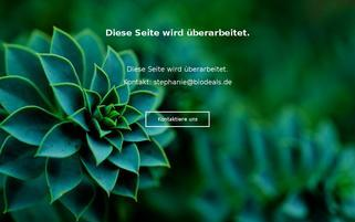 biodeals.de Webseiten Screenshot