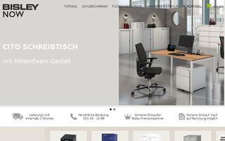 bisley-now.de Webseiten Screenshot
