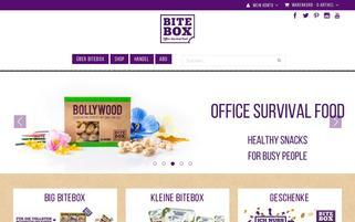BiteBox Webseiten Screenshot