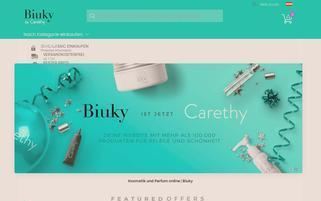 Biuky AT Webseiten Screenshot
