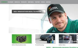 bizol.de Webseiten Screenshot
