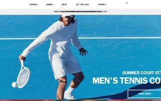 Björn Borg Webseiten Screenshot