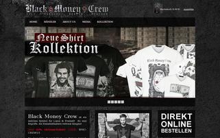 Black Money Crew Webseiten Screenshot