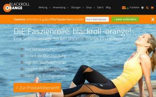 blackroll-orange Webseiten Screenshot