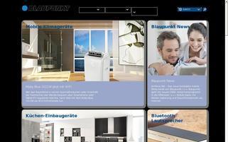 Blaupunkt Webseiten Screenshot