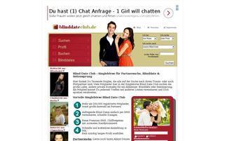 Blind Date Club Webseiten Screenshot