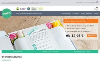 bloompost.de Webseiten Screenshot