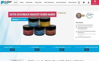 blubber-oase.de Webseiten Screenshot
