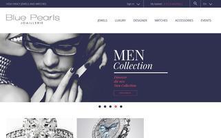 bluepearls.fr Webseiten Screenshot