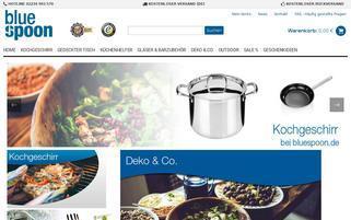 bluespoon.de Webseiten Screenshot