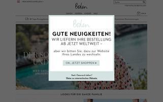 Boden Österreich Webseiten Screenshot