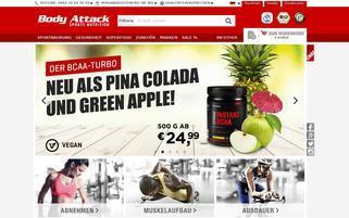 body-attack.de Webseiten Screenshot