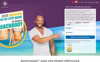 body-change.net Webseiten Screenshot