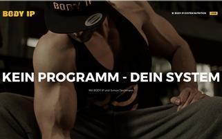 BODY IP Webseiten Screenshot