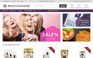 bodychange-shop.de Webseiten Screenshot