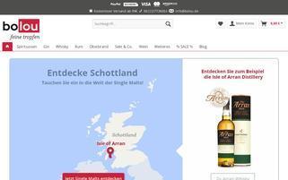 bolou Webseiten Screenshot