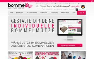 bommelme.com Webseiten Screenshot