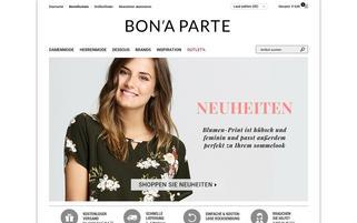 Bonaparte Webseiten Screenshot