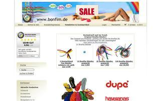 bonfim Webseiten Screenshot