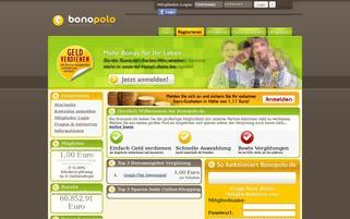 Bonopolo Webseiten Screenshot