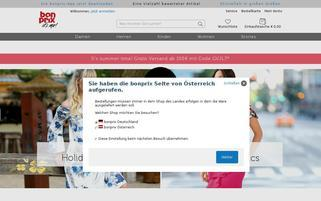 Bonprix.at Webseiten Screenshot
