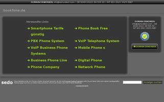 bookfone.de Webseiten Screenshot