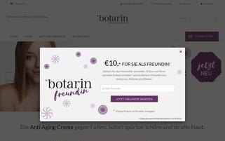 botarin Webseiten Screenshot