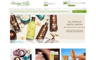bottegaverde.de Webseiten Screenshot