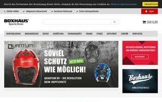 Boxhaus Webseiten Screenshot