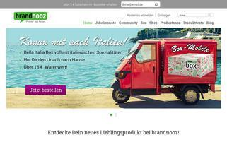 Brandnooz Webseiten Screenshot