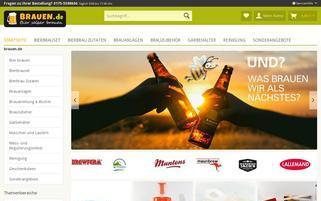 Brauen.de Webseiten Screenshot