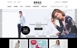 brax.com Webseiten Screenshot
