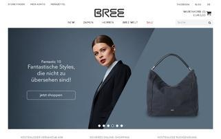BREE Webseiten Screenshot