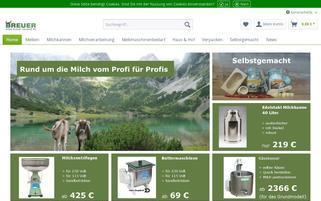 Breuer Webseiten Screenshot