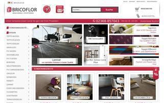 Bricoflor Webseiten Screenshot