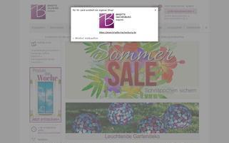 Brigitte Salzburg Webseiten Screenshot