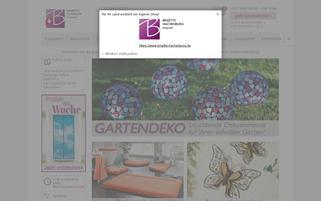 Brigitte St. Gallen Webseiten Screenshot